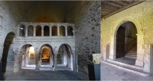 Les tribunes-jubés de l'abbaye Saint-Michel de Cuxa et du prieuré de Serrabona