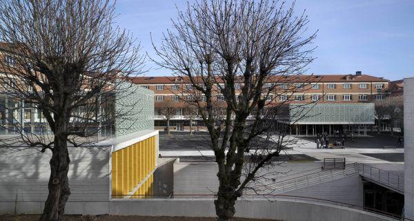 Intervenir dans l'existant, une attention intemporelle pour le lycée Roosevelt à Reims