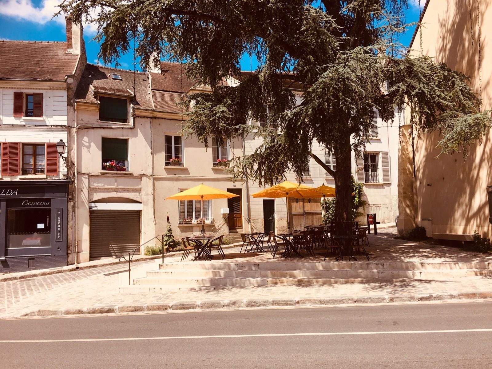 Luzarches (95) et son nouveau centre-ville. © D.R.