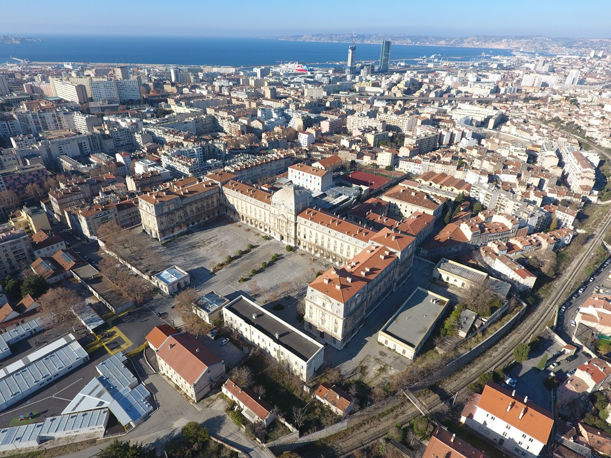 Caserne du Muy. © Ville de Marseille.