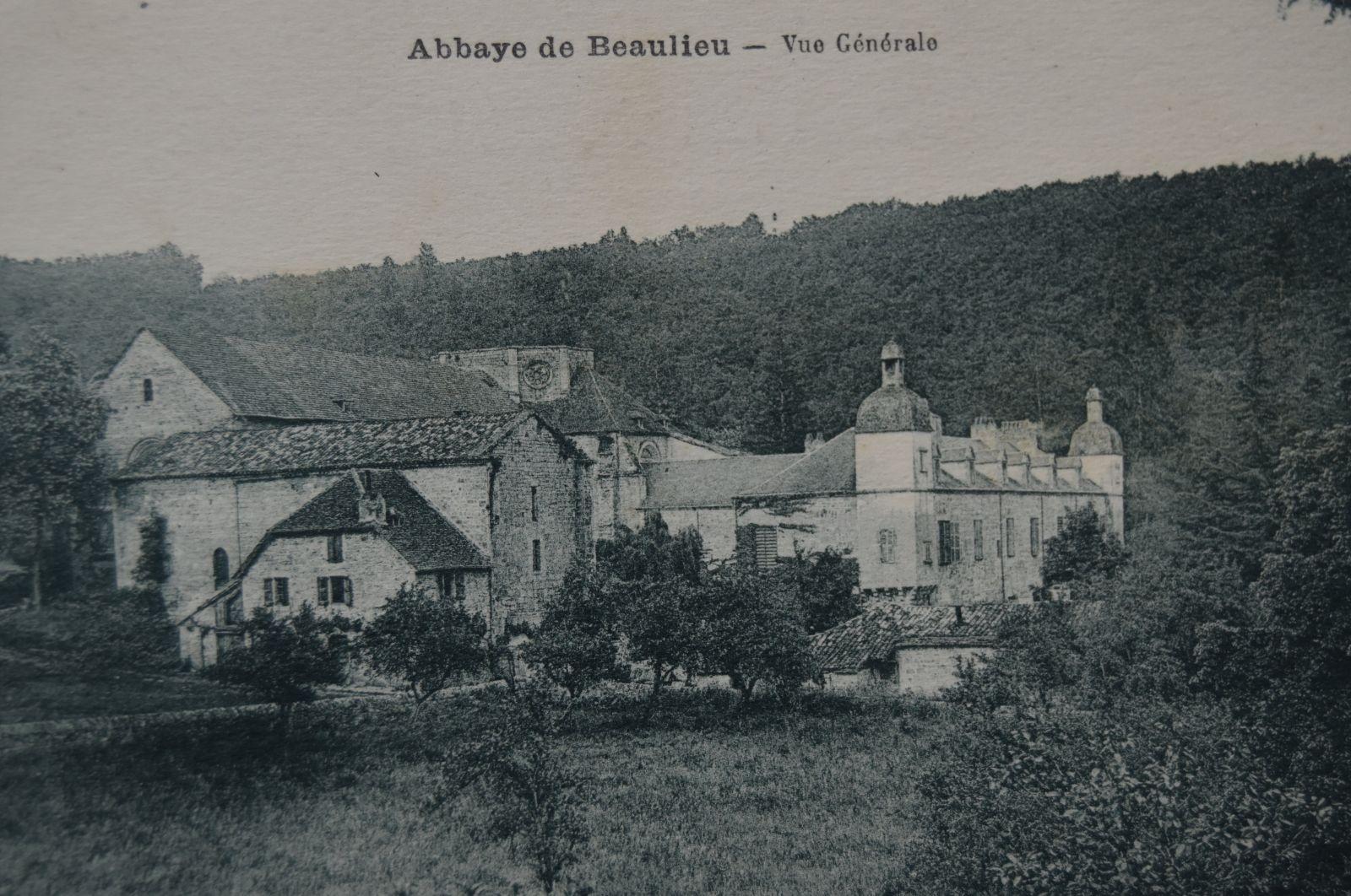 L'abbaye, vers 1890. © Anonyme.