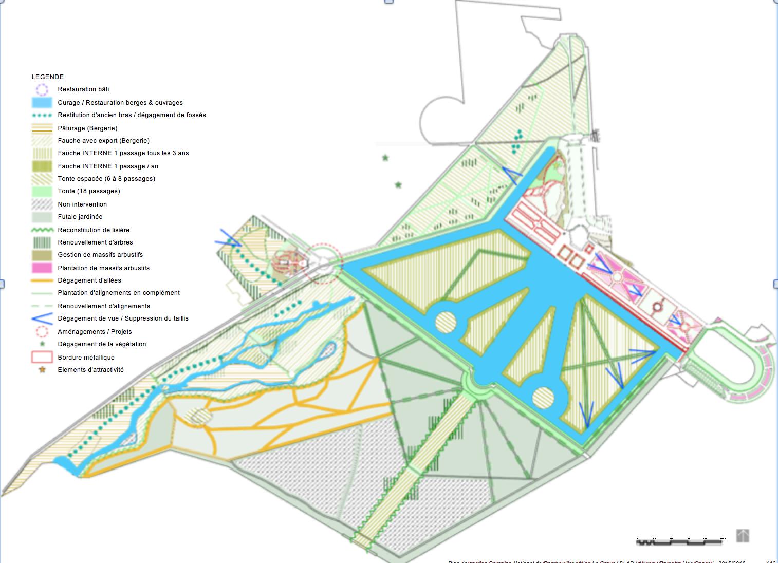 Plan de gestion Domaine National de Rambouillet : Aline Le Cœur / SLAP / Aliwen / Rainette / Iris Conseil - 2015/2016