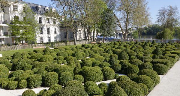 Un nouveau jardin à Orléans : le Jardin Hélène Cadou une ouverture sur la Loire