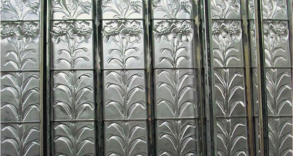Vitrail en cristal