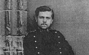 Harel de La Noë portant l'uniforme de son École polytechnique en 1870-1872.
