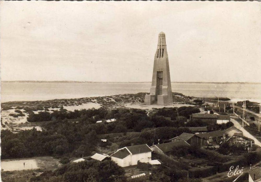 Le monument du Verdon-sur-Mer. © Région Nouvelle-Aquitaine, Inventaire général du patrimoine culturel, Conseil départemental de la Gironde