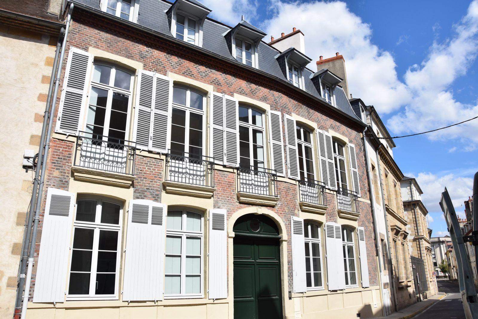 Façade de l'opération rue Diderot, Moulins. © Evolea.