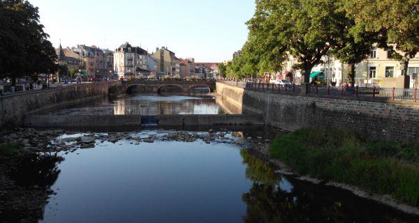 Les berges de la Savoureuse : d'un aménagement urbain de la fin du XIX(sup: e) siècle à un projet de parc urbain écologique