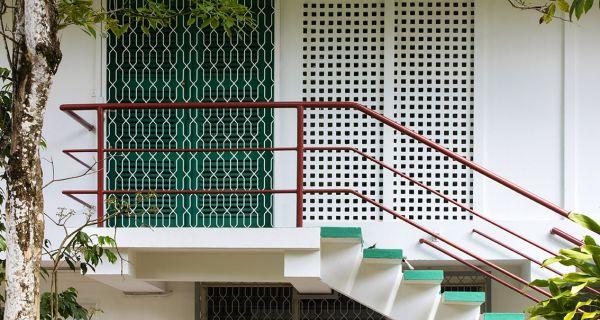La cité Rebard à Cayenne: problématique de conservation et de mise en valeur du patrimoine XX(sup: e) en Guyane.