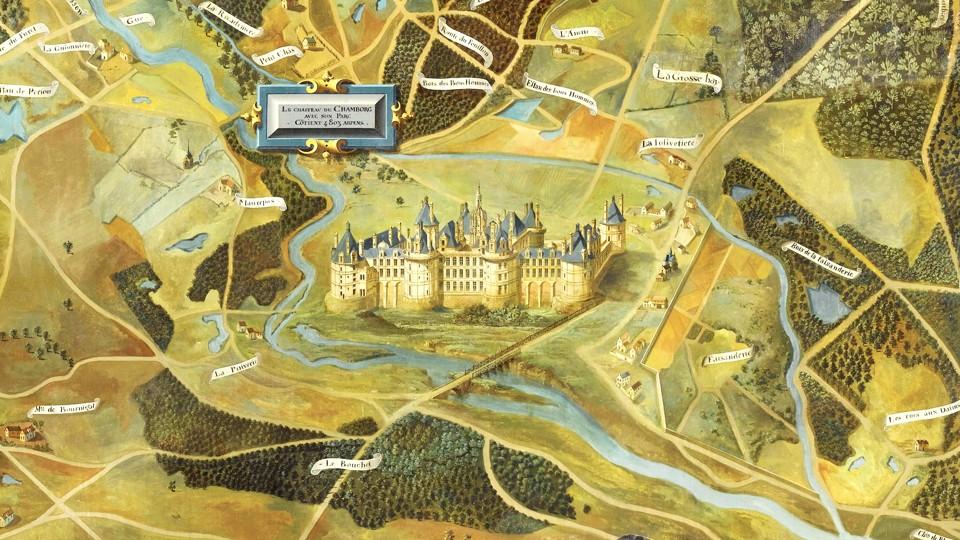 Le château de Chambord avec son parc. © D.R.