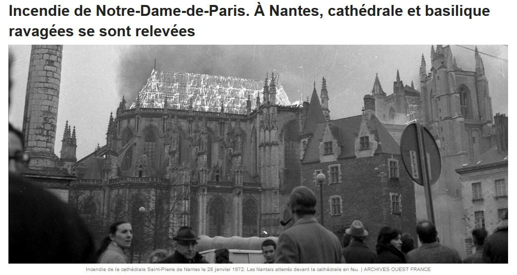 Annexe 1.1 : L'architecte des bâtiments de France - conservateur ; Ouest France – Extrait d'un article de Thomas Heng du 16 avril 2019